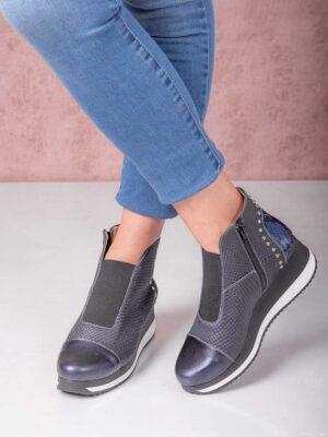 Botinetas cierre y elástico. Piscis Shoes.