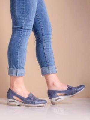 Zapatos de mujer de cuero. Urbanas confort. Gran Confort.